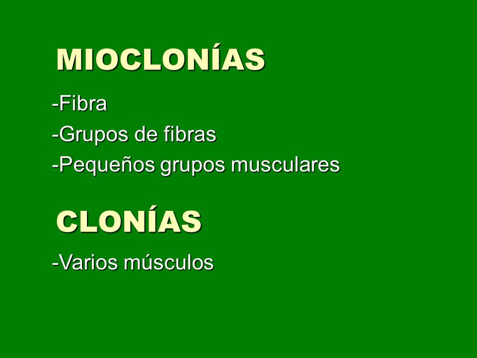 DISTONÍA Contracción muscular sostenida.Pueden ser: Contracción muscular sostenida.
