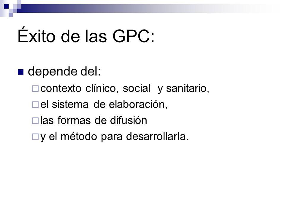 ¿Dónde se encuentran las GPC.