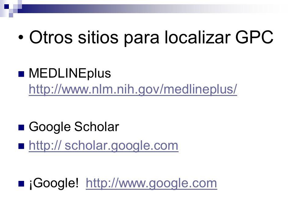 Centros metodológicos de GPC: Unidad de Investigación del St.