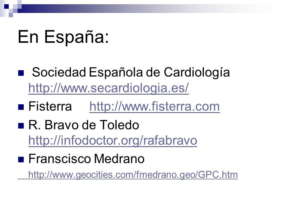 En España: Unidad de Investigación del Hospital General Yagüe Unidad de Investigación del Hospital General Yagüe