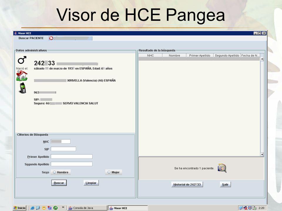 Visor de HCE Pangea