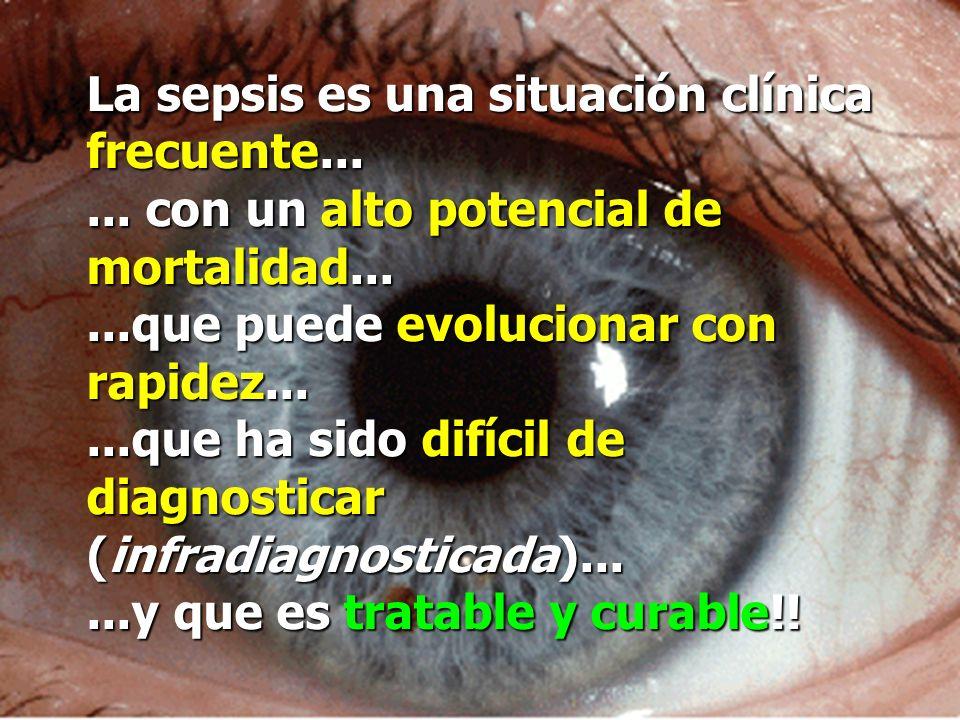 La sepsis es una situación clínica frecuente......