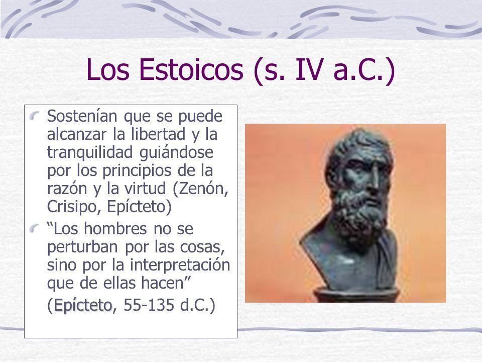 Los Estoicos (s.