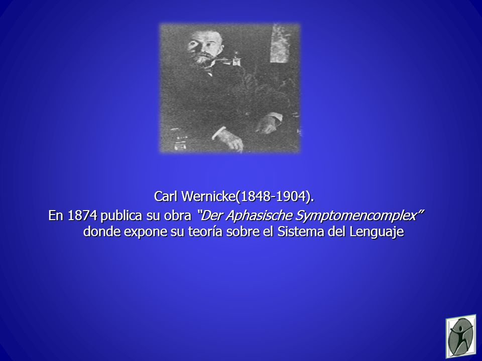Carl Wernicke(1848-1904).