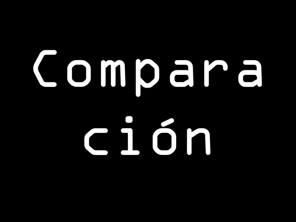 Compara ción