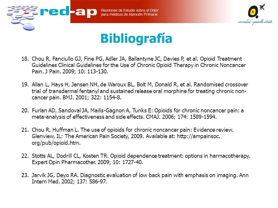 18.Chou R, Fanciullo GJ, Fine PG, Adler JA, Ballantyne JC, Davies P, et al.