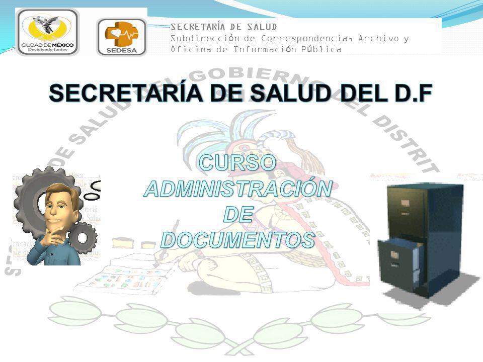 ARCHIVO CLÍNICO PASIVO 3 AÑOS ARCHIVO CLÍNICO PASIVO 3 AÑOS UNIDAD DE ARCHIVO DE CONCENTRACIÓN 5 AÑOS UNIDAD DE ARCHIVO DE CONCENTRACIÓN 5 AÑOS CONTROL DE GESTIÓN VALORACIÓN PRIMARIA VALORACIÓN PRIMARIA BAJA O CONSERVACIÓN BAJA O CONSERVACIÓN TRANSFERENCIA SECUNDARIA TRANSFERENCIA SECUNDARIA VALORACIÓN SECUNDARIA VALORACIÓN SECUNDARIA ARCHIVO CLÍNICO ACTIVO 2 AÑOS ARCHIVO CLÍNICO ACTIVO 2 AÑOS NOM-004 TRASLADO PRIMARIO TRASLADO PRIMARIO