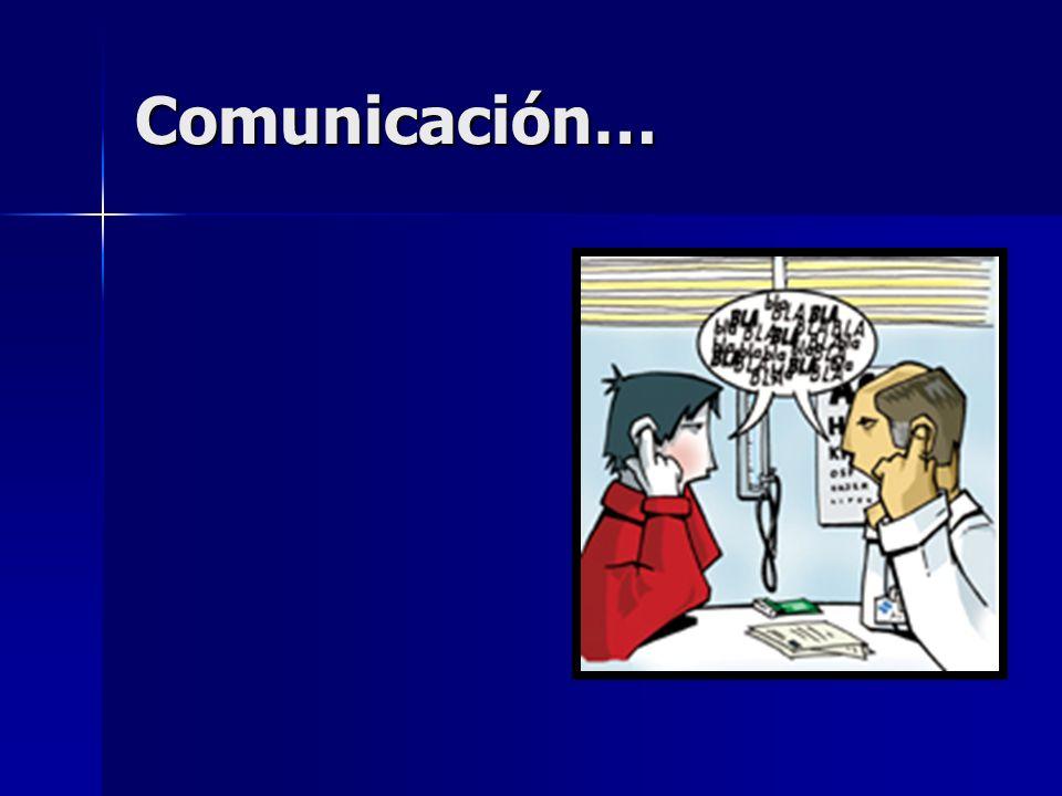 Comunicación…