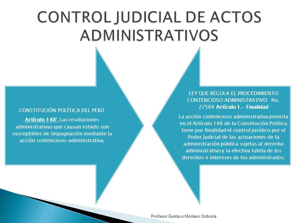 CONSTITUCIÓN POLÍTICA DEL PERÚ: Artículo 148°.