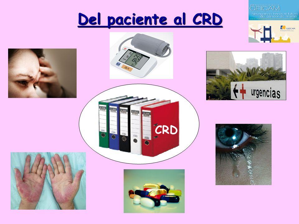 Del paciente al CRD CRD