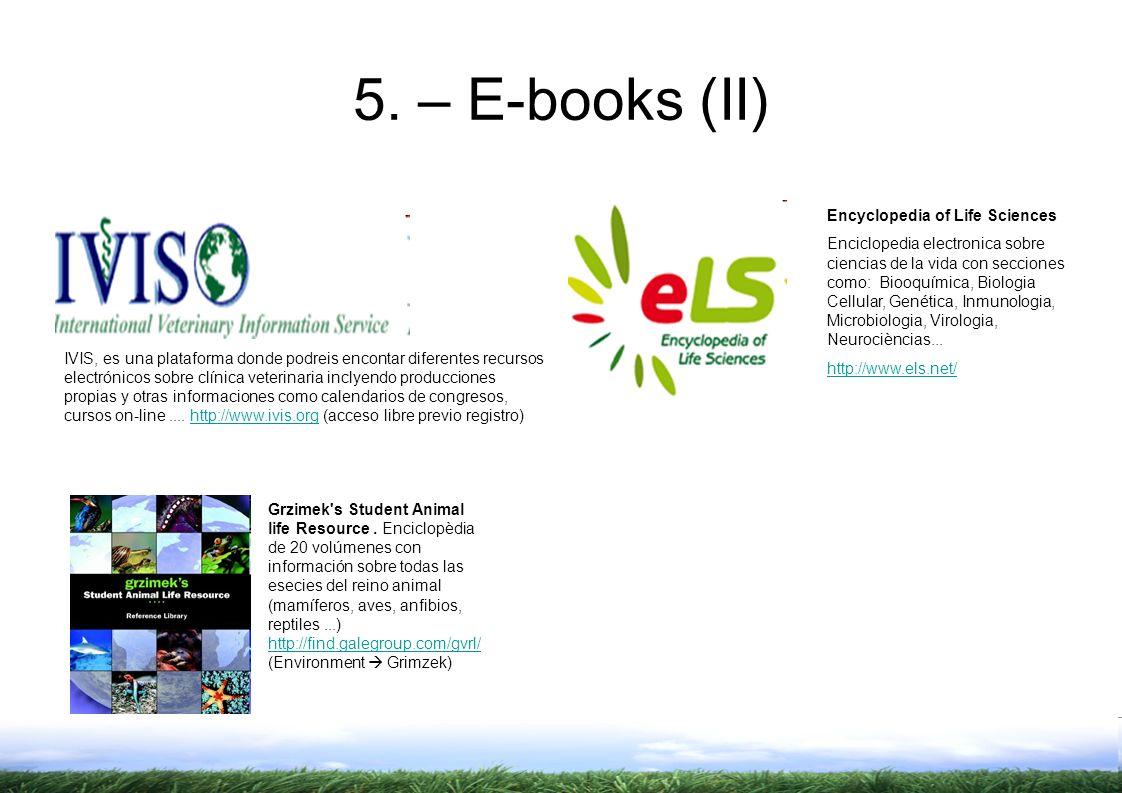IVIS, es una plataforma donde podreis encontar diferentes recursos electrónicos sobre clínica veterinaria inclyendo producciones propias y otras informaciones como calendarios de congresos, cursos on-line....
