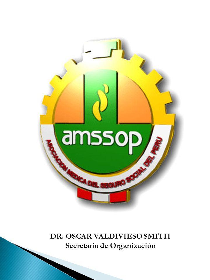 DR. OSCAR VALDIVIESO SMITH Secretario de Organización