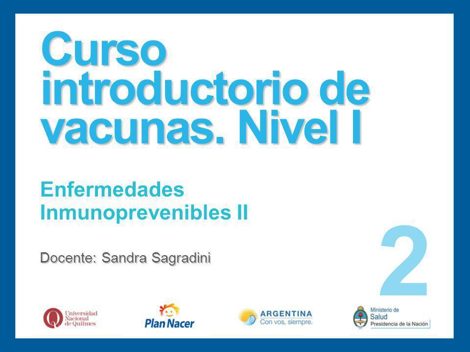 Curso introductorio de vacunas.