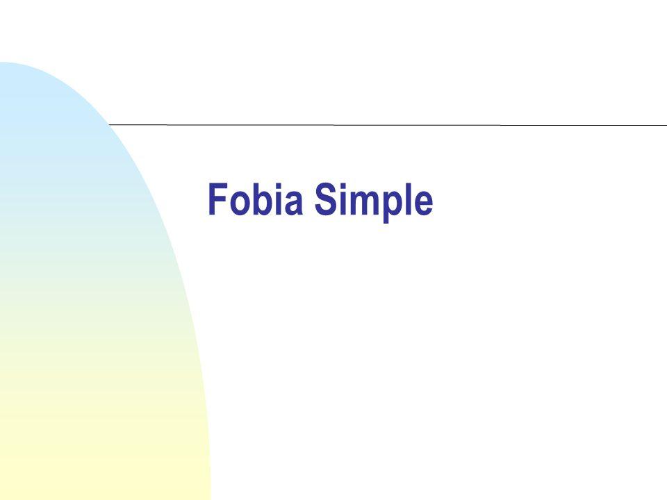 Fobia Simple
