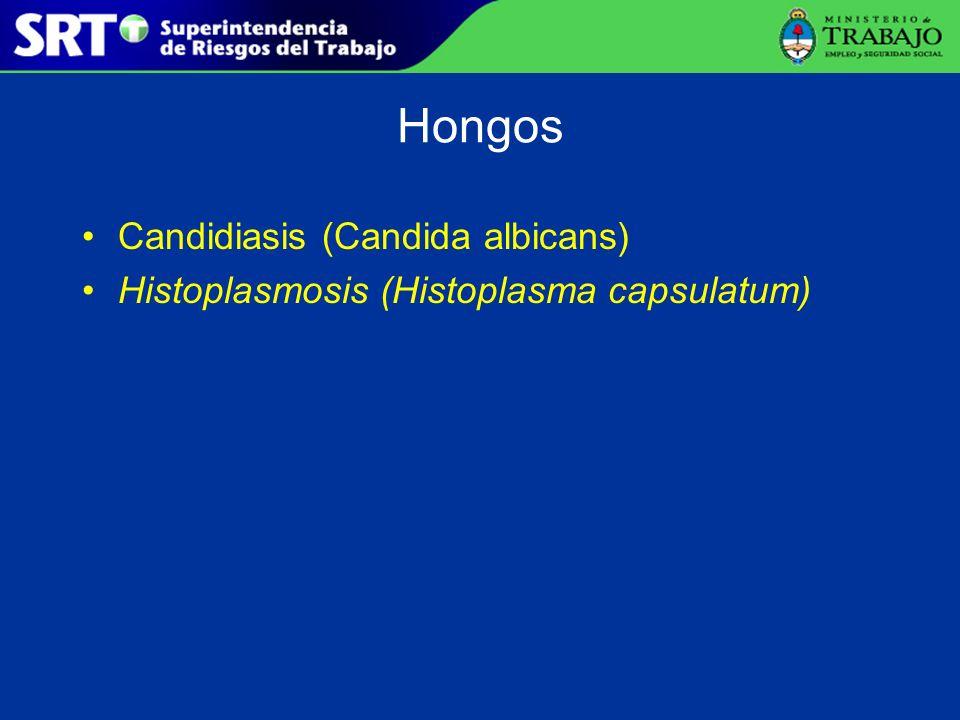 Exposición a Hantavirus Bunyaviridae; lábiles a los desinfectantes.