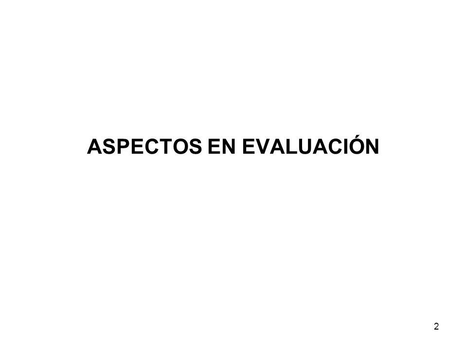 ASPECTOS EN EVALUACIÓN 2