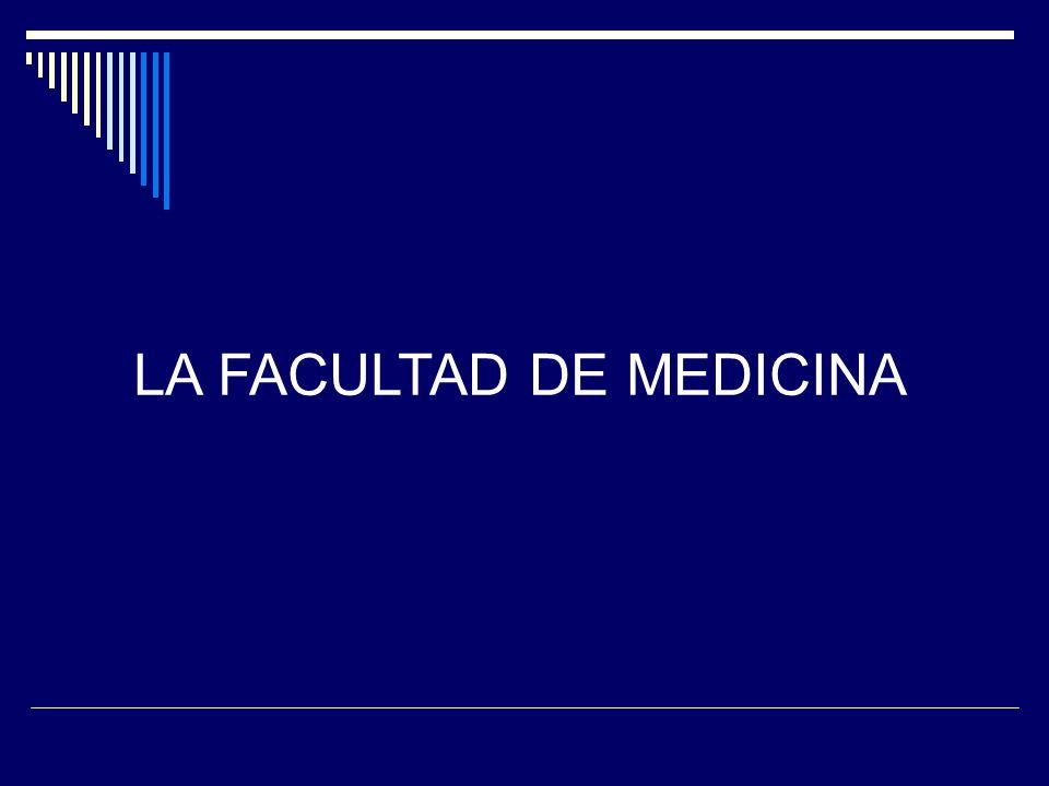 Perfil del médico y su relación con la Salud Pública Definición del Perfil Médico aprobado por la Asamblea del Claustro de la Facultad de Medicina (abril de 1995).