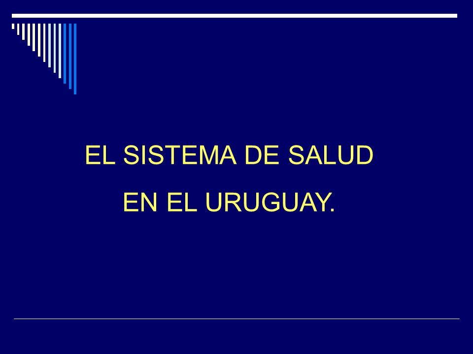EL SISTEMA DE SALUD EN EL URUGUAY.
