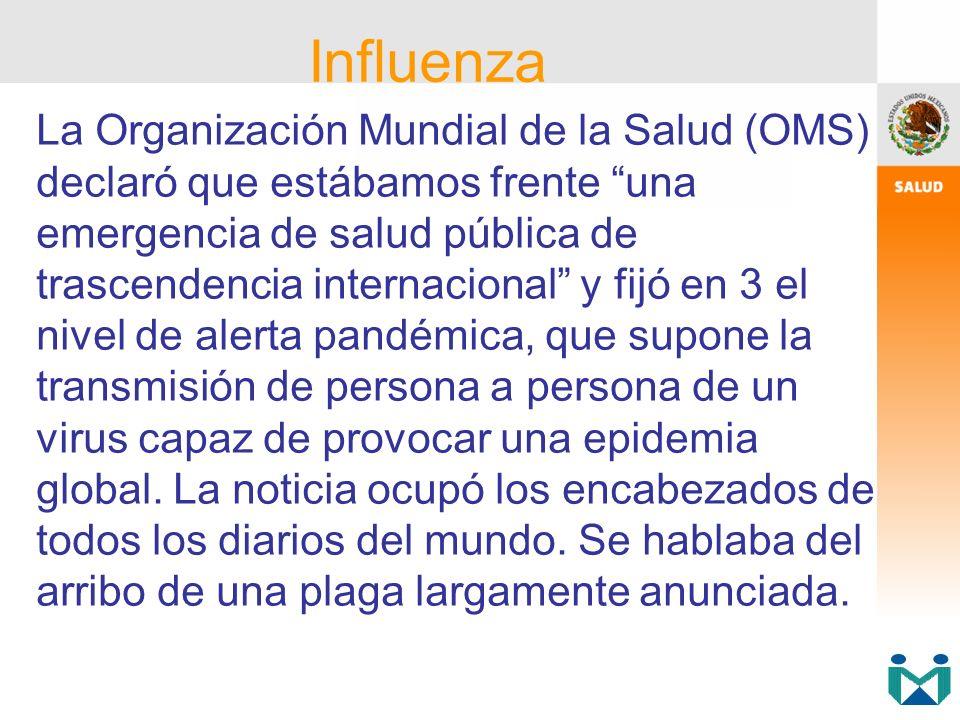 La Organización Mundial de la Salud (OMS) declaró que estábamos frente una emergencia de salud pública de trascendencia internacional y fijó en 3 el n
