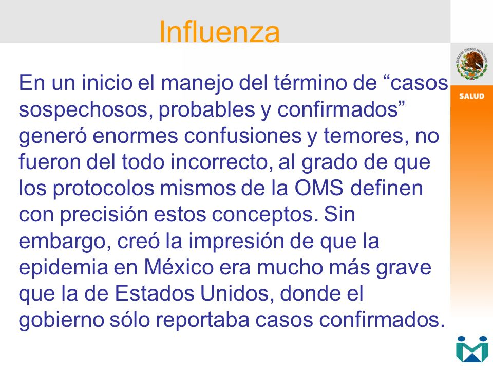 Se revisaron 120 expedientes de pacientes fallecidos, confirmados con infección por virus de Influenza A(H 1 N 1 ), con el objeto de identificar si en la atención hospitalaria existió evidencia de mala práctica.