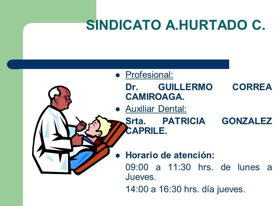 SINDICATO A.HURTADO C.