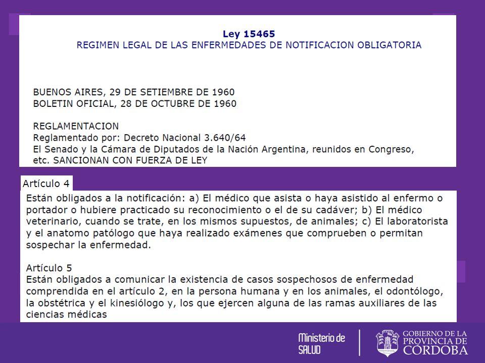 PROCESO DE NOTIFICACION Ley 15465 Eventos de notificación obligatoria Ante la sospecha clínica de alguno de estos Eventos ¿Quiénnotifica.
