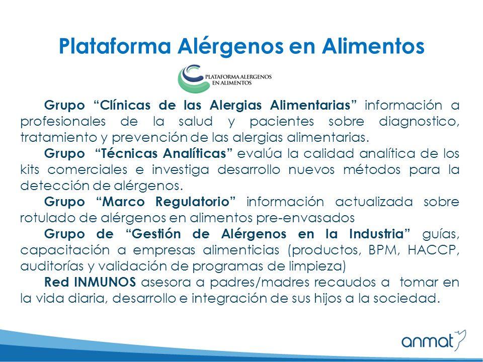 Grupo Clínicas de las Alergias Alimentarias información a profesionales de la salud y pacientes sobre diagnostico, tratamiento y prevención de las alergias alimentarias.
