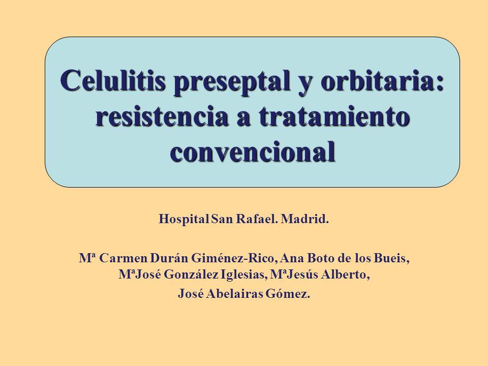 Introducción infecciones orbitarias pediátricas Las infecciones orbitarias pediátricas pueden ser preseptales u orbitarias, siendo su origen más frecuente la infección de senos paranasales (84%), y el germen más frecuente actualmente el neumococo.