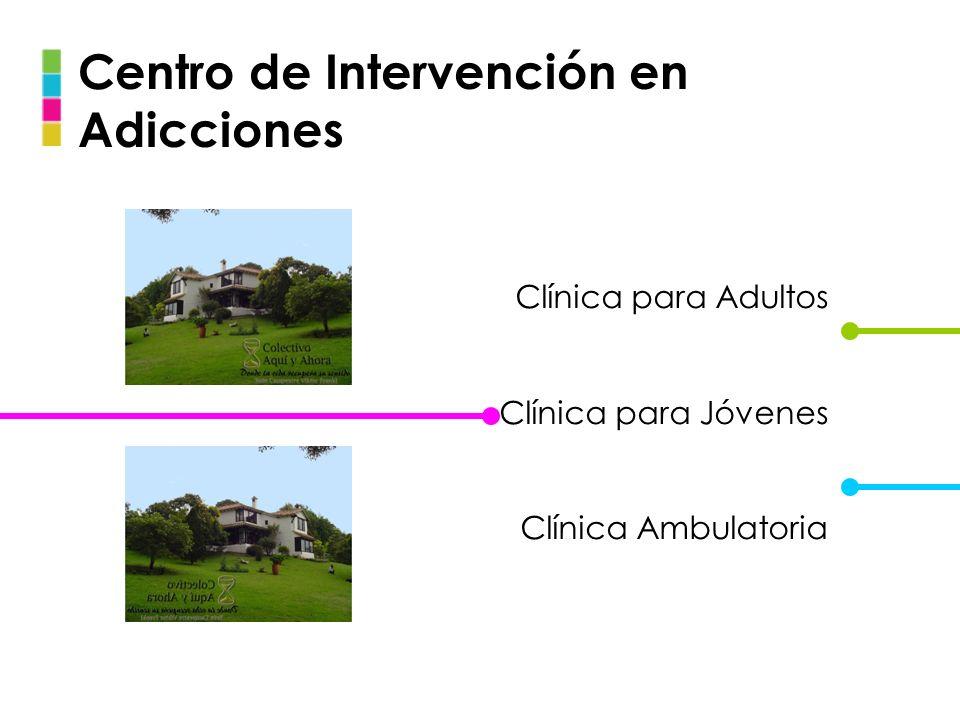 Centro de Intervención en Adicciones Clínica para Adultos Clínica para Jóvenes Clínica Ambulatoria