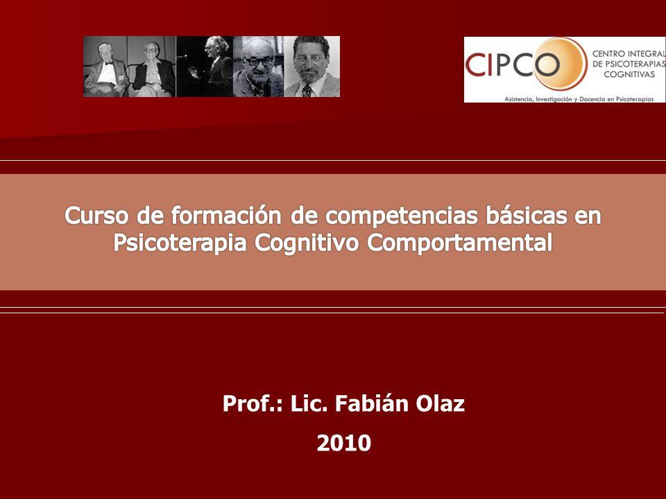 Dimensión temporal de la organización conductual Se refiere a la historia de aprendizaje y los factores de desarrollo.