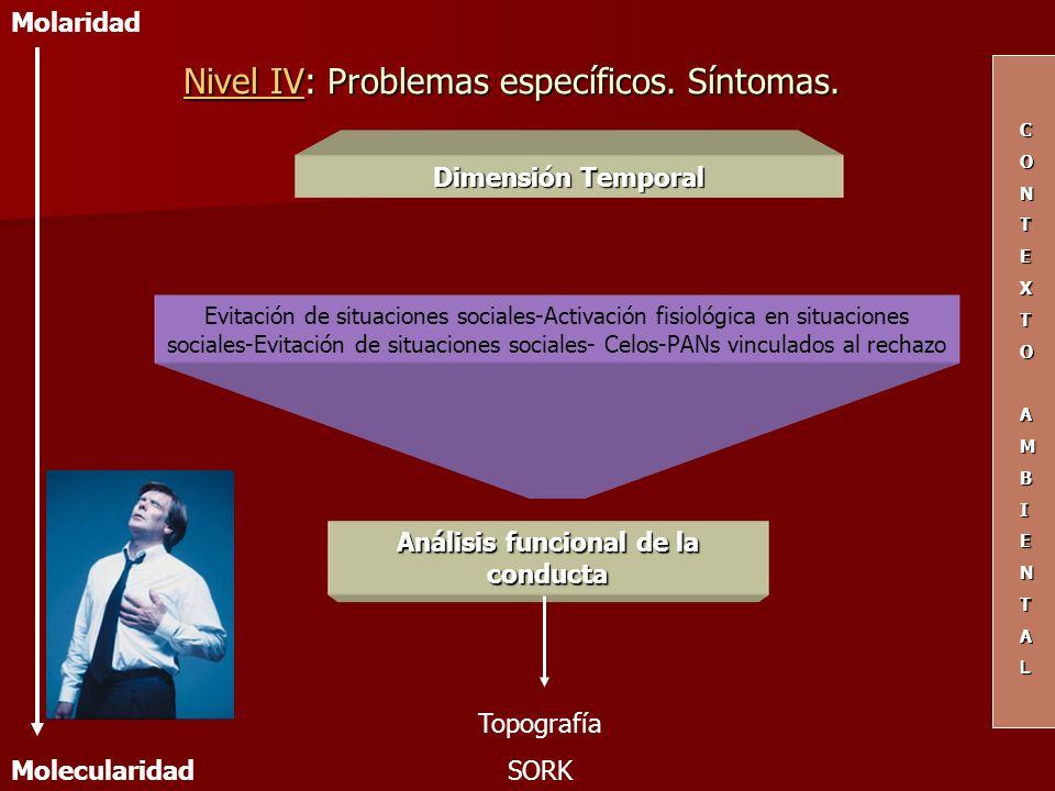 Dimensión Temporal Evitación de situaciones sociales-Activación fisiológica en situaciones sociales-Evitación de situaciones sociales- Celos-PANs vinc