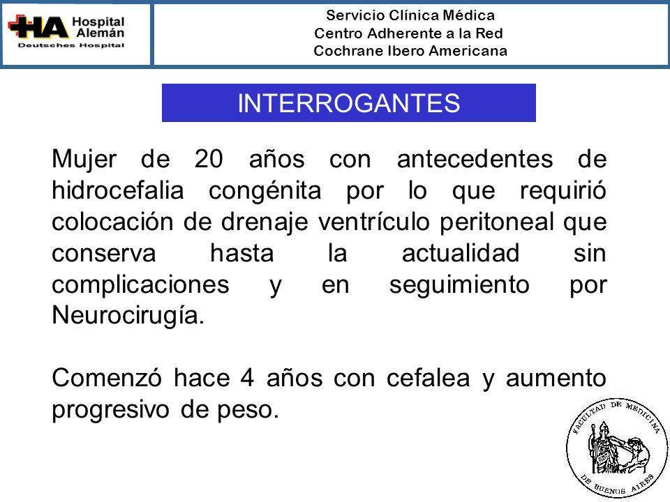Servicio Clínica Médica Centro Adherente a la Red Cochrane Ibero Americana Intuición/ExperienciaEvidencias Valor predictivo BajoAlto Rigor Científico BajoAlto ContextoAltoBajo INTUICIÓN/EXPERIENCIA VS EVIDENCIAS