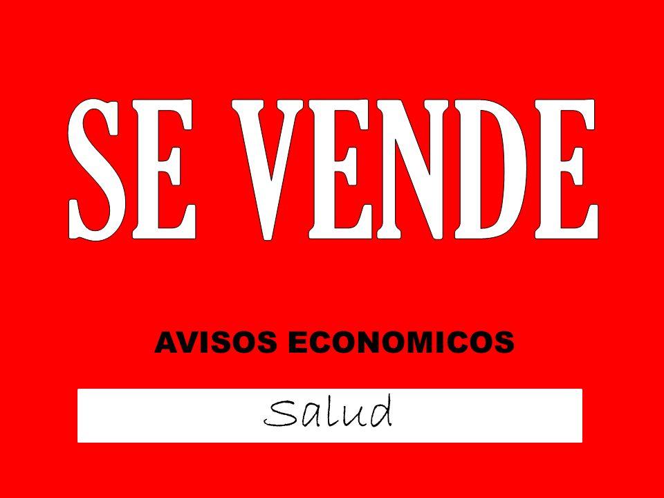 Salud AVISOS ECONOMICOS