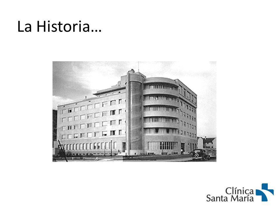 Inauguración Clínica Santa María 19391954 1973 1982 1 era Ampliación Clínica Oriente
