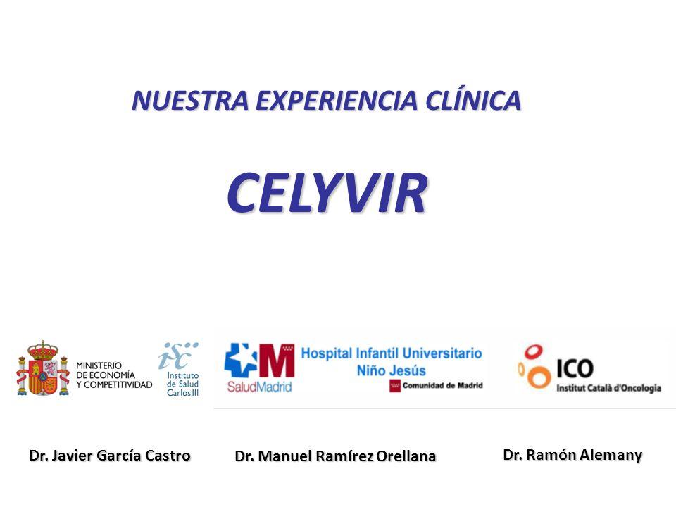 NUESTRA EXPERIENCIA CLÍNICA CELYVIR Dr.Manuel Ramírez Orellana Dr.