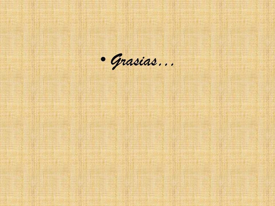 Grasias…