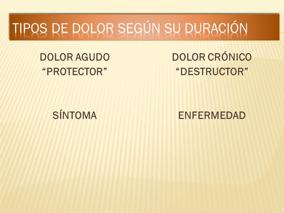 Aparición Localización Irradiación Características Intensidad Alivio del dolor
