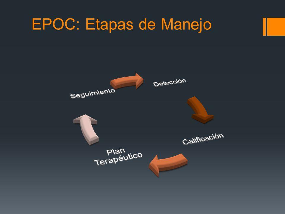 EPOC: Etapas de Manejo