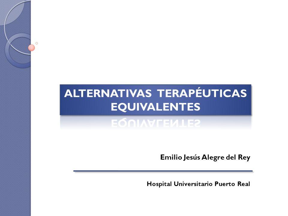 Emilio Jesús Alegre del Rey Hospital Universitario Puerto Real