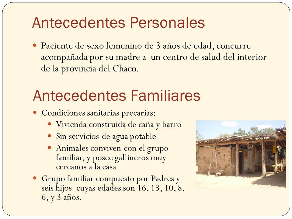 Antecedentes Personales Varón de 65 años de edad.