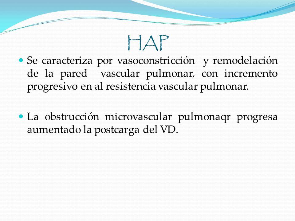 Ecocardiograma para buscar HP en EPOC: Exclusión de HP significativa Evaluación de cardiopatía izquierda concomitante Selección de pacientes para CCD Cateterismo cardiaco derecho en neumopatía: Dx de HP en candidatos a cirugía Posible HP desproporcionada Episodios frecuentes de insuficiencia del VD Ecocardiograma no concluyente.
