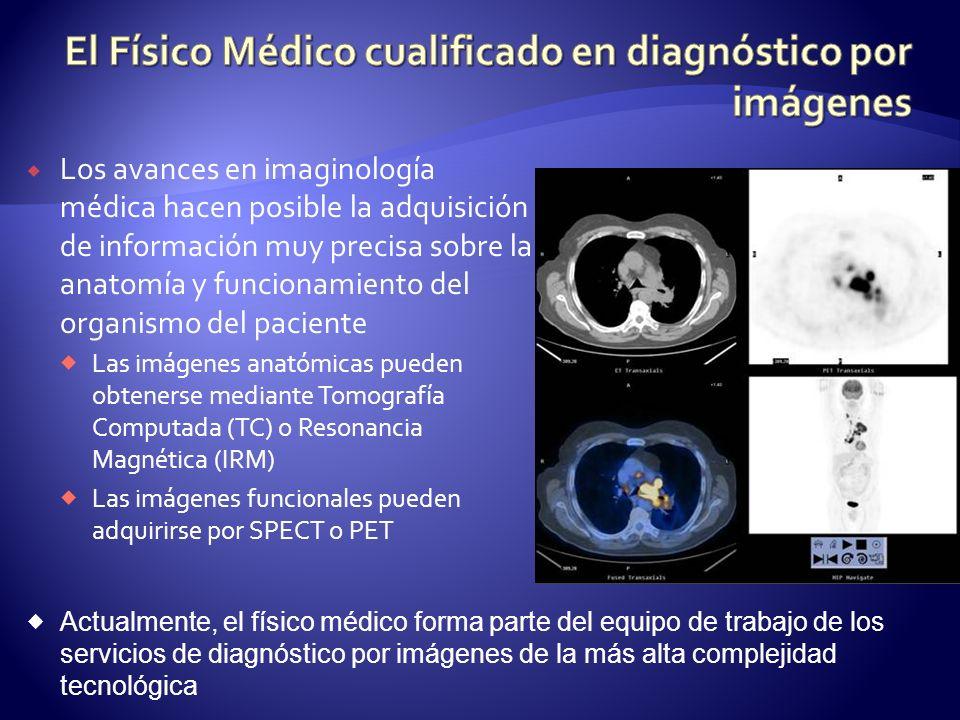 Los avances en imaginología médica hacen posible la adquisición de información muy precisa sobre la anatomía y funcionamiento del organismo del pacien