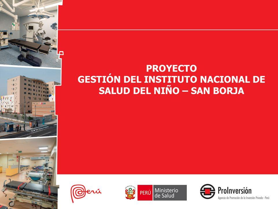 EL INSN – SAN BORJA El Instituto Nacional de Salud del Niño – san Borja ( INSN –SB ) nació con la finalidad de : Atender pacientes de alta complejidad.