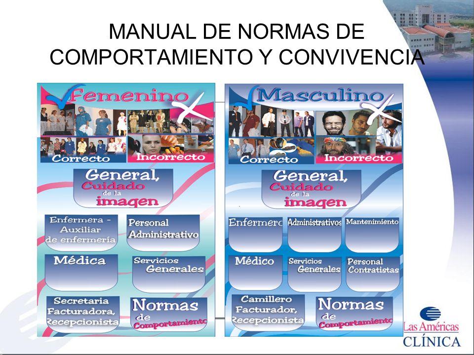 MANUAL DE NORMAS DE COMPORTAMIENTO Y CONVIVENCIA