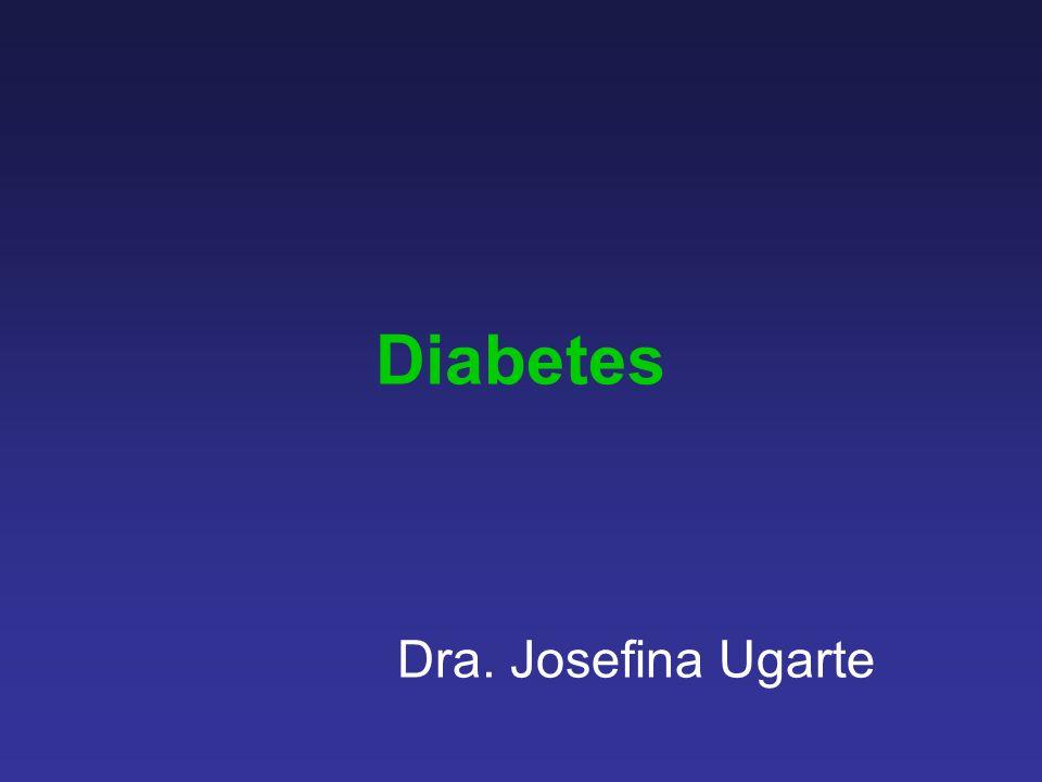 Diabetes Dra. Josefina Ugarte