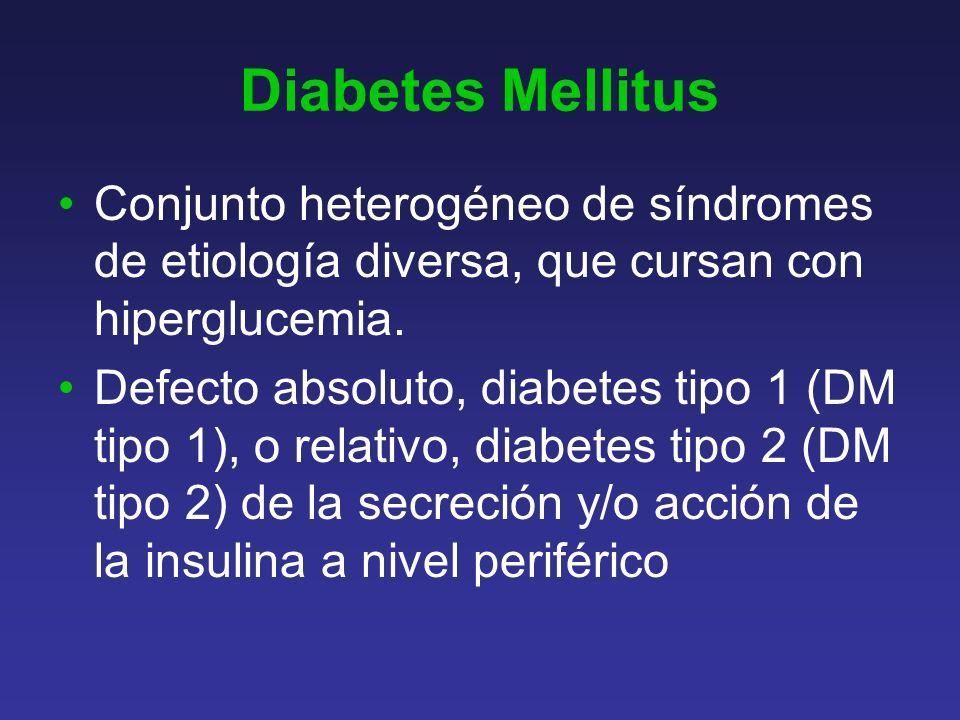Otras manifestaciones clínicas al diagnóstico -Complicaciones metabólicas agudas.