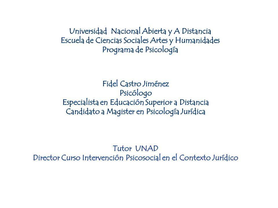 Psicología en la Ley CÓDIGO PENAL (Ley 599 de 2006) «Artículo 33.