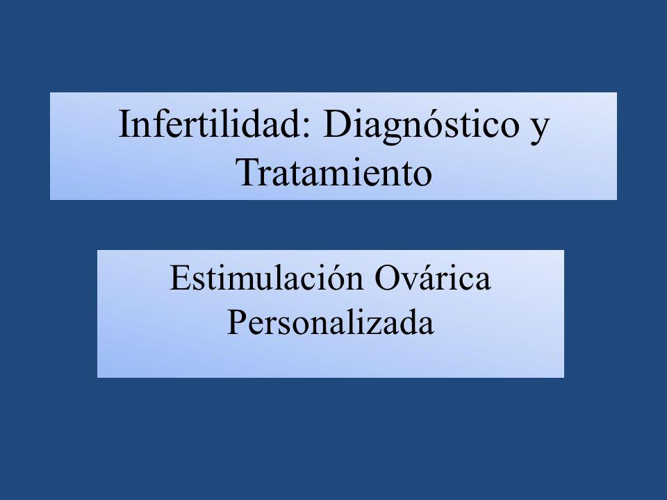 Infertilidad: Diagnóstico y Tratamiento Estimulación Ovárica Personalizada