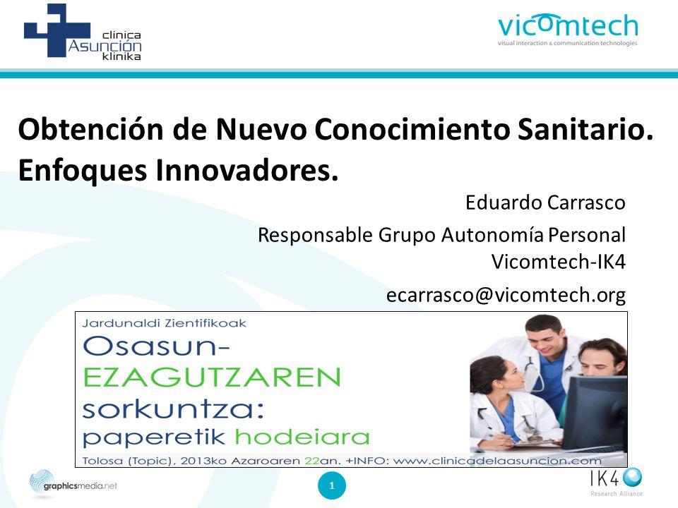 1 1 Obtención de Nuevo Conocimiento Sanitario.Enfoques Innovadores.