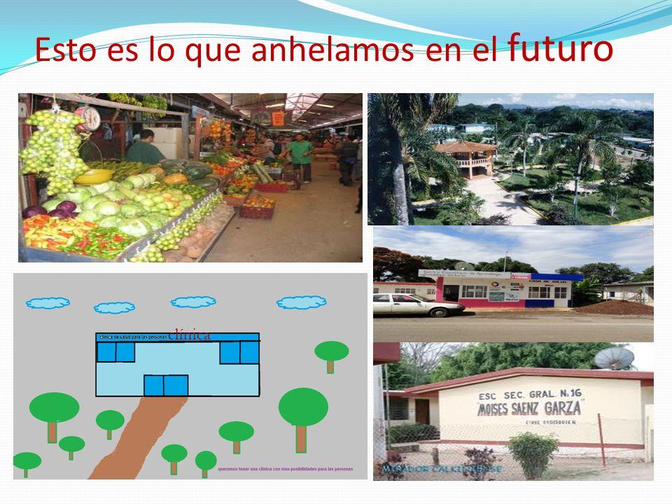 Encuesta a la comunidad futuro ¿ QUE LE GUSTARIA QUE TUVIERA LA COMUNIDAD A FUTORO.